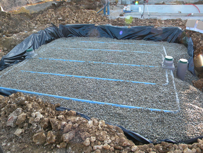 Filtre à sable drainé etanche avec bache (7)